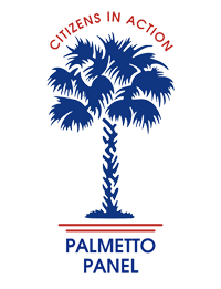 Palmetto Panel logo, red and blue, final draft_200x261